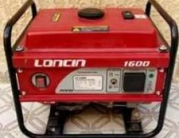 ماطور لونسن loncin قوة 1600 نظيف جدا وشبه ...