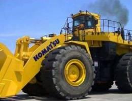 Heavy construction Machinery Komatsu