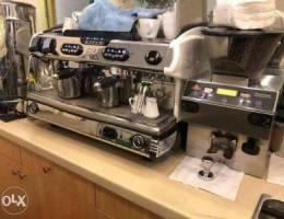La Spaziale Coffee Machine.ماكينة كوفي إيط...