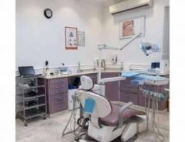 للبيع تجهيزات مجمع طب اسنان مستعمله