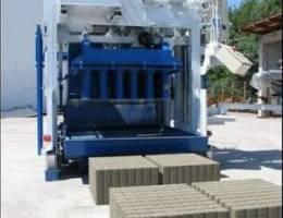 Movable concrete block machine E-12 SWEDEN