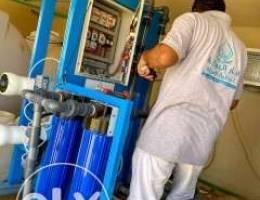محطات تحليه مياه من ٥طن ل ٥٠٠طن بسعر الخصم