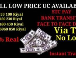 Pubg uc available at cheap price Saudi Ara...