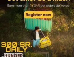 Hungerstation Delivery Rider
