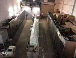 Used Italy Chillers In great price ,برادات...
