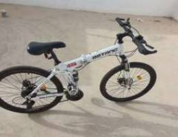 Foldable bicycle very clean