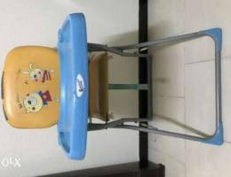 Baby High Chair Adjustable