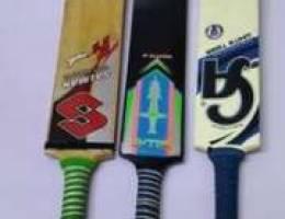 Cricket 3 bats (tape ball)