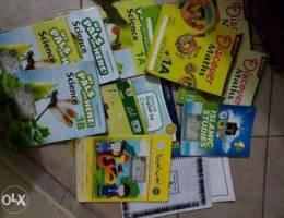 Books of different school syllabus