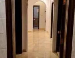 شقة للايجار في حي المروة خلف هايبر بندة