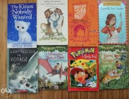 8 English children's books for sale