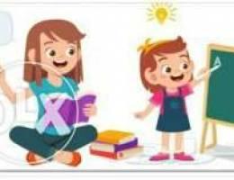 معلمة ابتدائي خصوصية تأسيس جدة