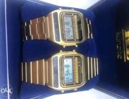 Two Alba vintage digital watch