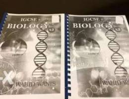 A level Biology Past papers with notes