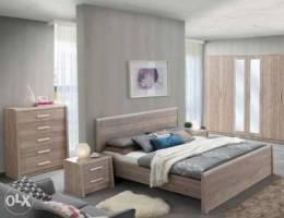 غرفة نوم كينج سايز180*200 سم٢ (غرفة كاملة ...