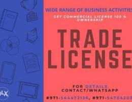 Get commercial trade license in Dubai