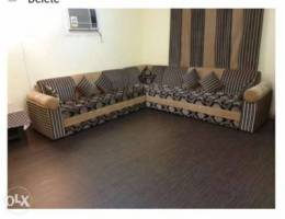 Sofa for sale only on 200 sar. Available o...