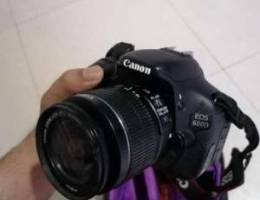 Canon eos 600D same like new