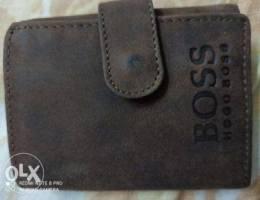 Boss Genuine leather wallets