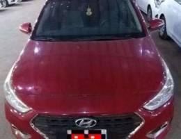 Unique RED Color Hyundai Accent 2019 - Ori...