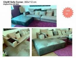 City W Sofa Corner For Sale